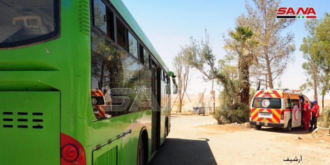 Из лагеря «Ар-Рукбан» прибыло несколько беженцев в районы, контролируемые сирийским государством
