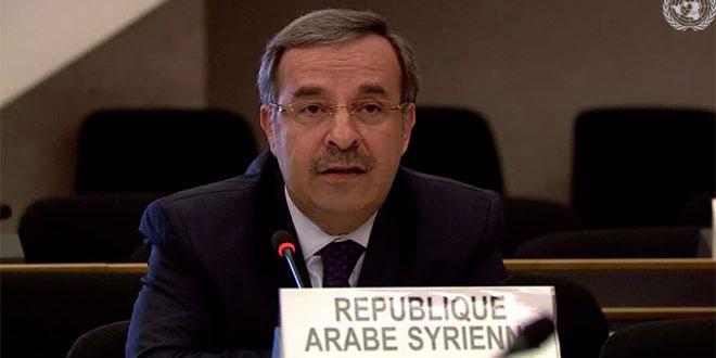Постпред САР: Использование рядом стран БПЛА вызвано неспособностью СБ ООН это сдерживать