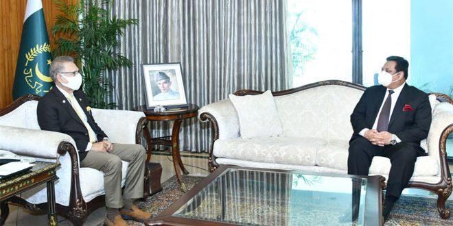 Президент Пакистана призвал новоназначенного посла своей страны в Сирии расширить с ней двусторонние связи