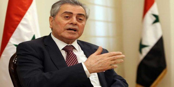 Абдель-Карим: Двери посольства Сирии открыты для оказания помощи сирийцам в Бейруте