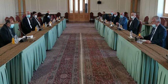 Хаджи и Лаврентьев обсудили ситуацию в Сирии