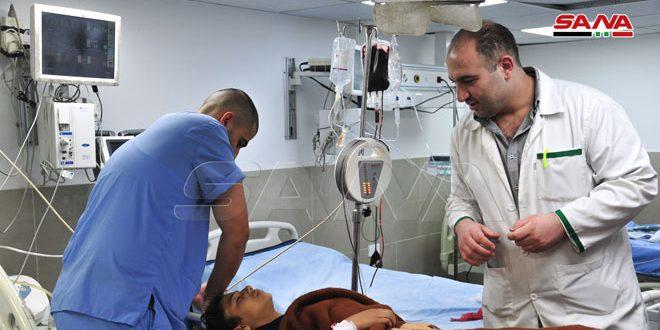 В провинции Дамаск в результате срабатывания взрывного устройства пострадали 9 школьников