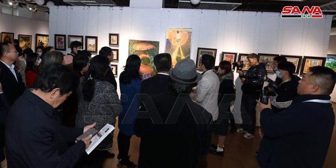 В Китае открылась выставка сирийского художника «Шаг по Великому шелковому пути от Дамаска до Китая»
