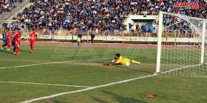 Продолжаются матчи Премьер-лиги Сирии по футболу