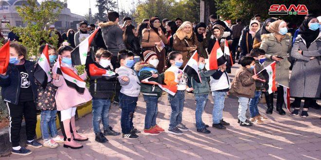 В Алеппо осудили отделение арабского сирийского района Лива Искандерун от Сирии
