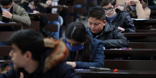 В Сирии прошел второй этап Научной олимпиады школьников 2020/21 учебного года