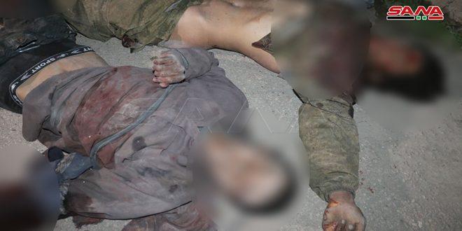 Армейцы уничтожили восемь террористов, причастных к нападениюна автобусы на трассе Дейр-эз-Зор — Пальмира