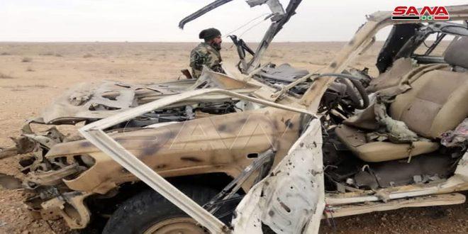 Военный источник: Уничтожено 8 террористов, совершивших нападение на автобусы в Дейр-эз-Зоре