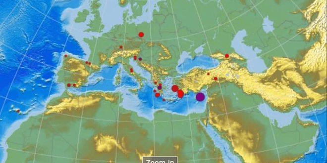 Землетрясение на Кипре почувствовали жители побережья