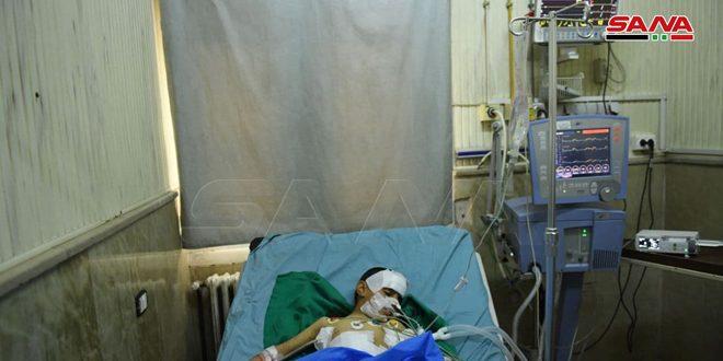В Алеппо в квартале Масакен Ханану при взрыве пострадали 5 мирных жителей