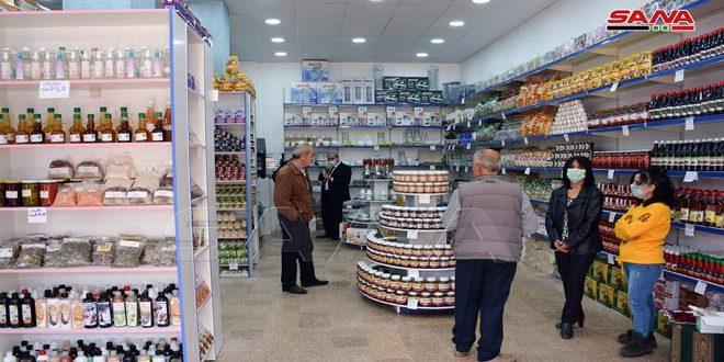 В городе Латакия заработали три зала Сирийской торговой корпорации