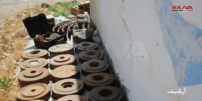 Пять мирных жителей подорвались на мине террористов при сборе металлолома в провинции Ракка