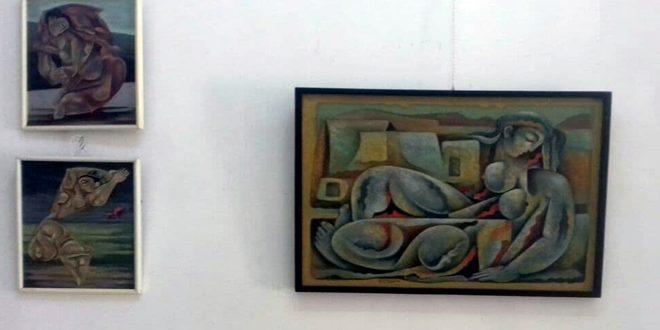 В Хомсе прошла выставка изобразительного искусства