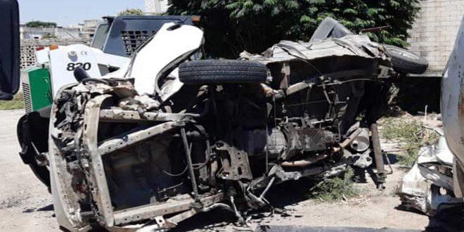 В провинции Хама в результате ДТП погибли 4 человека, еще 10 пострадали