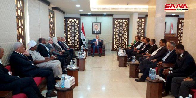 Делегация Исламской национальной конференции: Сирия — главная опора оси сопротивления