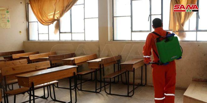 В школах провинции Тартус зафиксировали 15 случаев заражения коронавирусом