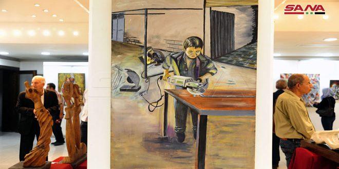 Работы 43 сирийских и палестинских художников на ежегодной выставке «Память дубов»