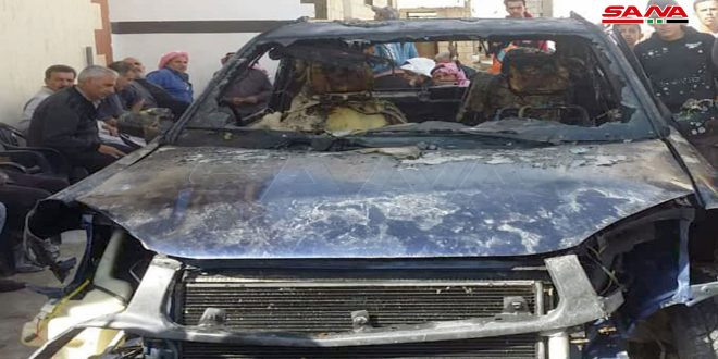 В Кунейтре взлетел на воздух заминированный автомобиль