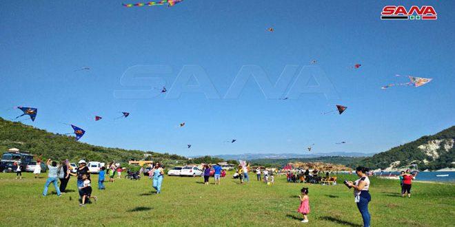 Lazkiye'de Uçurtma Festivali