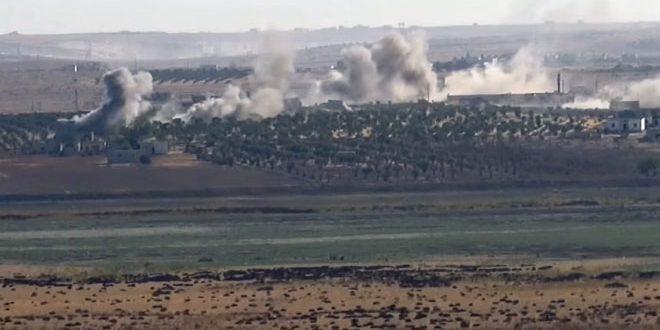İşgalci Türk Kuvvetleri Ve Kiralıkları, Şeyh İsa Köyüne Füzelerle Saldırdı