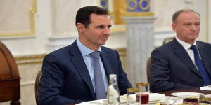 Assad Putin dinner