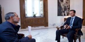 President al-Assad-Interview-Iranian Khabar TV 3