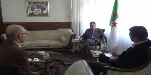Algerian Ambassador to Syria 2