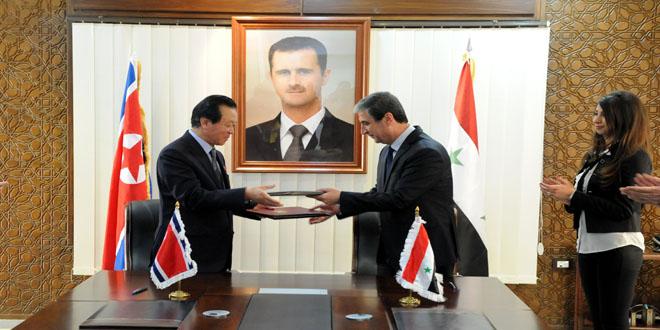 legami siria corea del nord 1