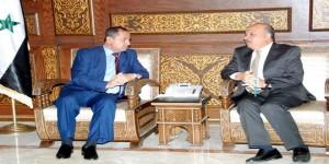 Interior Minister - Iraqi chargé d'affaires 3