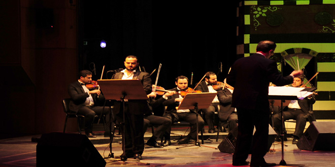 New season of opera house starts with syria my homeland for House music orchestra