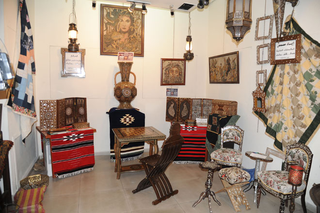 Traditional Handicrafts Exhibition Opens In Damascus Syrian Arab
