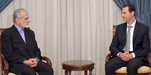 President al-Assad-Kamal Kharrazi-Iran 1
