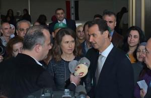 President al-Assad_elections_4