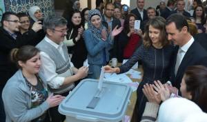 President al-Assad_elections_5