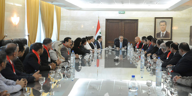 Assistant Foreign Minister, Grand Mufti meet delegation of