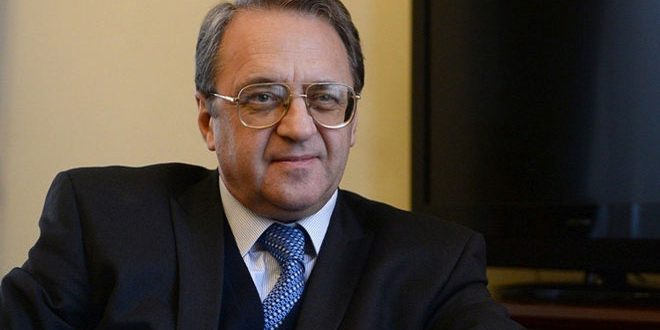 Bogdanov: Syrian National Dialogue Congress will be held as scheduled