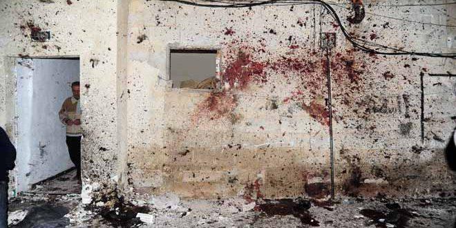 Terrorist suicide attack in Kafrsouseh area in Damascus ...