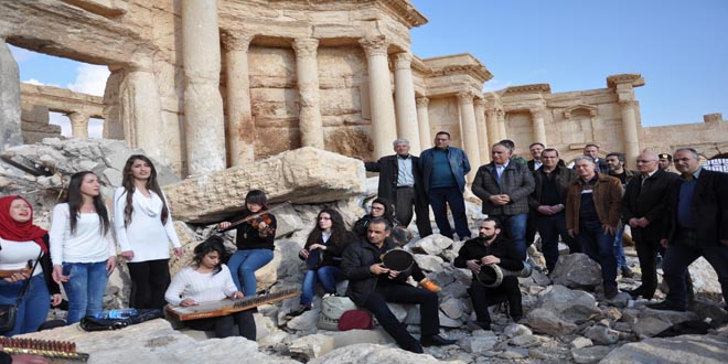 Homs Governor Inspects Situation In Palmyra City Syrian Arab News