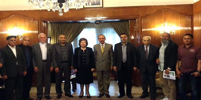 Al-Attar: Syria Will Defeat All Forms Of Conspiracies