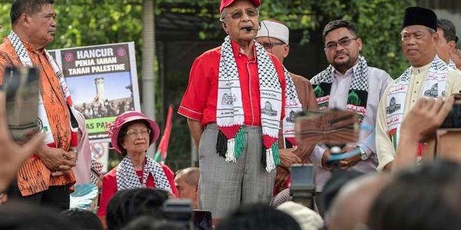 Image result for Mahathir' stand on Palestine