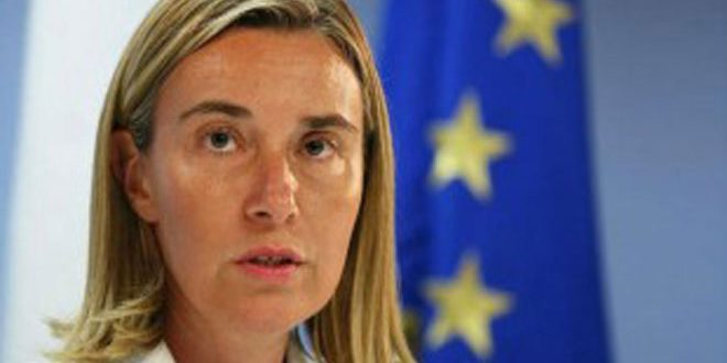 Mogherini: Turkish aggression may undermine political efforts to solve crisis in Syria