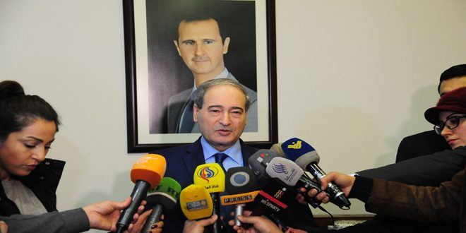 Mikdad: Syria will confront any Turkish aggression on its territory by appropriate response