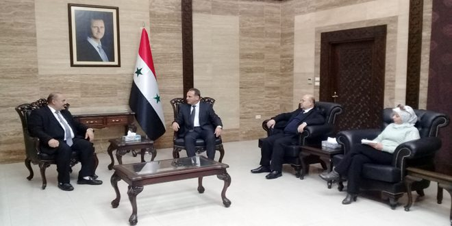 Health cooperation between Syria and Lebanon discussed