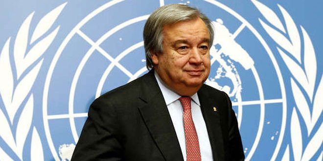 Guterres calls for resuming Geneva talks on Syria without preconditions