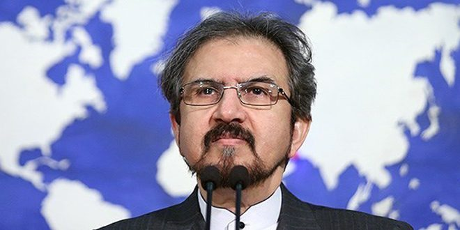 Iran calls upon Turkey to stop its aggression on Syrian territories