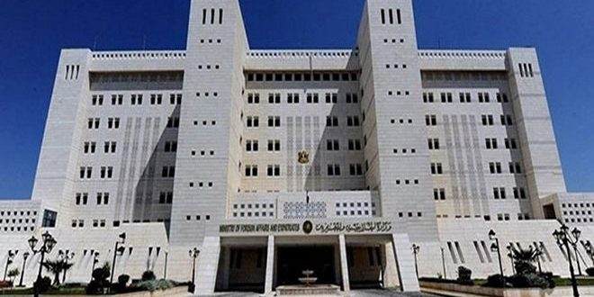 Foreign Ministry: France not eligible to play any role in peace process in Syria as long as it supports terrorism