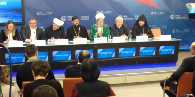 Russian religious figures: External intervention in Syria hinders reach political settlement