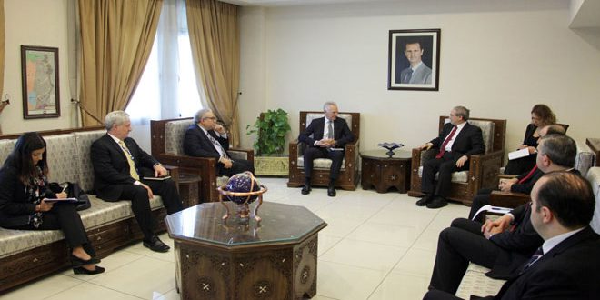 Mikdad stresses Syria's keenness to ensure the safety of UN agencies and personnel on its territory