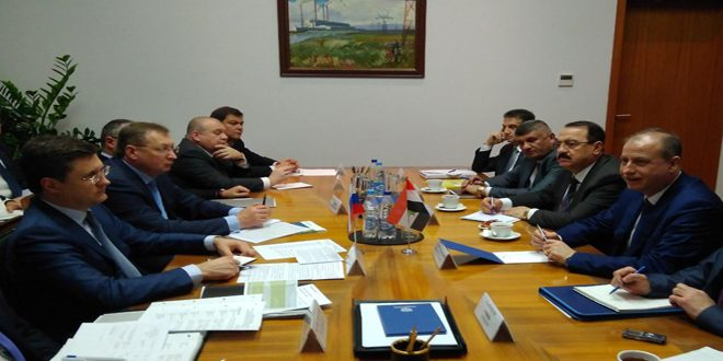 Syria And Russia Ink Agreement On Energy And Mineral Resources