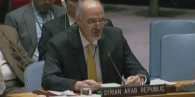 Al-Jaafari: endangering lives of 8 million civilians in Damascus to protect terrorists in Eastern Ghouta is unacceptable